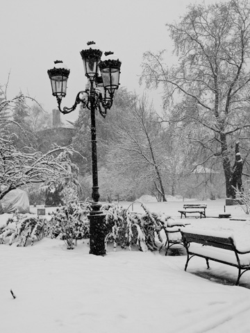 Winter finds itself in Sofia, Bulgaria.