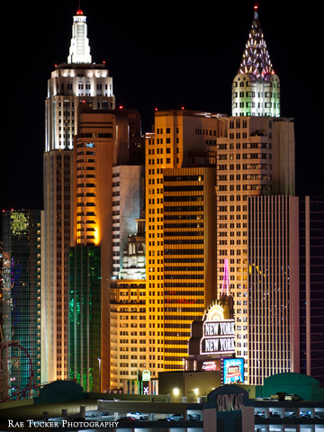 New York New York Hotel and Casino in Las Vegas, Nevada