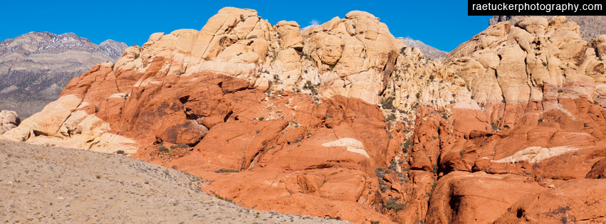 Nevada's Red Rock Canyon Facebook Banner