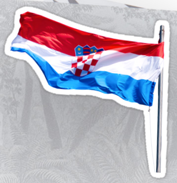 Croatian Flag Sticker