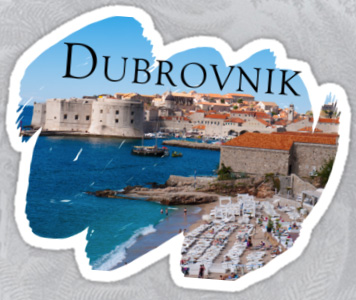 Dubrovnik Sticker
