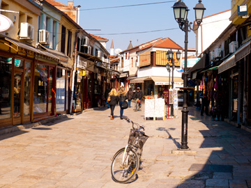 The Old Bazaar in Skopje, Macedonia