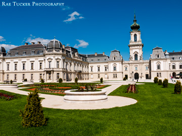 Summer at the Festetics Palace in Keszthely, Hungary