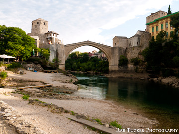 Along the Neretva River in Mostar