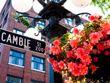 Cambie Street in Vancouver, British Columbia