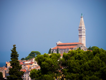 Summer in Rovinj, Croatia