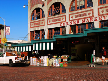Seattle's Corner Market at Pike Place