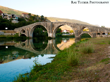 The old bridge in Trebinje, Bosnia and Herzegovina