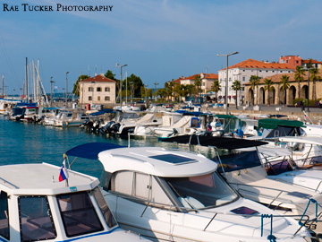 A harbour in Koper, Slovenia