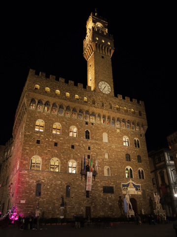 The Bargello at night