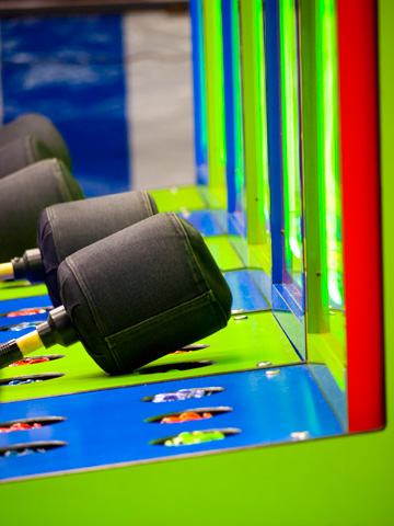 Whack-a-Mole carnival game