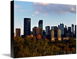 Calgary Alberta Canvas Prints