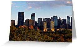 Calgary Alberta Greeting Cards