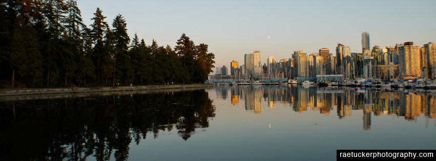 Vancouver and Stanley Park free facebook banner